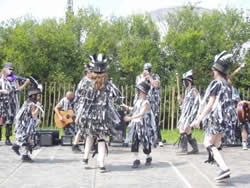The Biker Urban Morris  Dancers