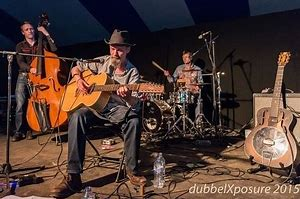 2020 blues tent Mark Harrison trio