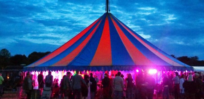 BIG TOP musicians against homlessness stage 2020